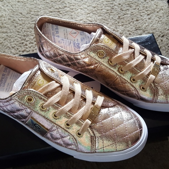 e3d5bd8f7676 G by Guess Backer 4 Rose Gold sneakers